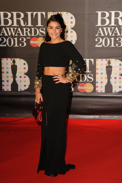 Jessie Ware in a Crop-Top