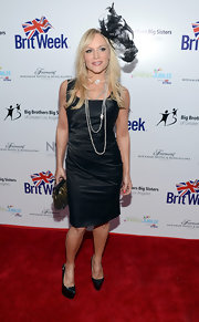 Stacey Jackson kept it classic with this little black dress at the BritWeek Celebrates Downton Abbey event.