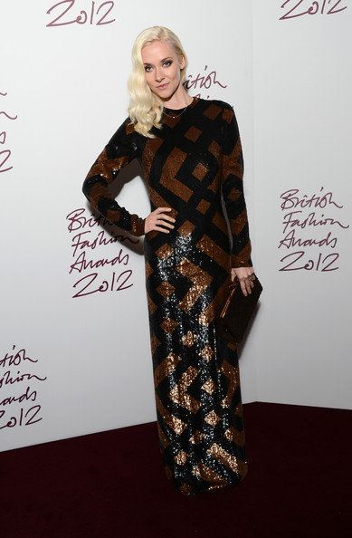 Portia Freeman at the 2012 British Fashion Awards