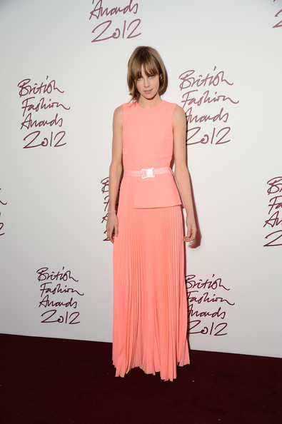 Edie Campbell at the 2012 British Fashion Awards