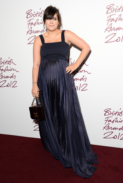 More Pics of Lily Allen Evening Dress (1 of 6) - Lily Allen Lookbook - StyleBistro