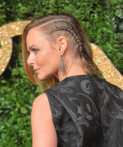 Stella McCartney looked punky wearing this partially braided 'do at the British Fashion Awards.