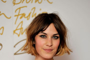 Alexa Chung attends the British Fashion Awards at The Savoy on December 7, 2010 in London, England.