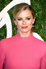 Laura Bailey opted for a simple yet pretty side-parted ponytail when she attended the British Fashion Awards.