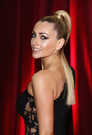 Gemma Merna looked striking at the British Soap Awards with this high ponytail (not to mention the ultra-sexy dress).