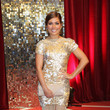 Nikki Sanderson at the 2013 British Soap Awards