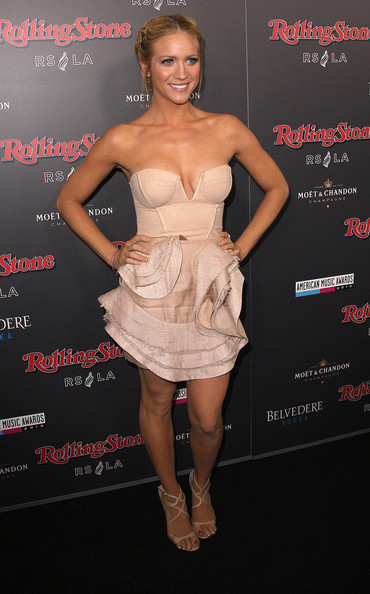 Brittany Snow Corset Dress