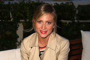 Brittany Snow Military Jacket