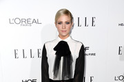 Brittany Snow Pussybow Blouse