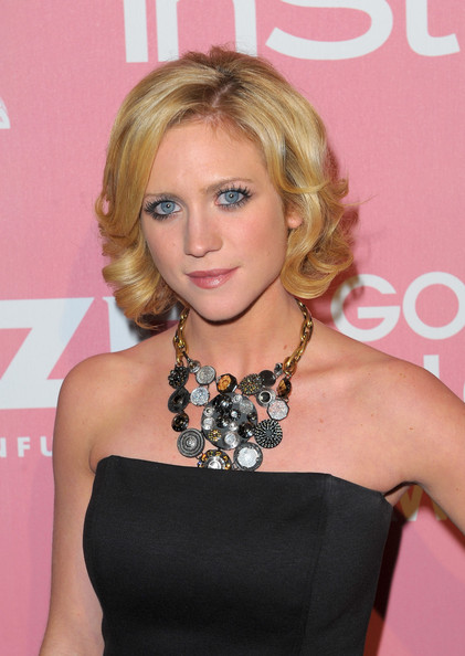 Brittany Snow Short Curls