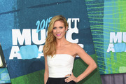 Brittany Snow Strapless Dress