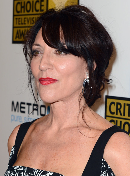 Katey Sagal wore her hair in a glamorous chignon at the Critics' Choice Awards.