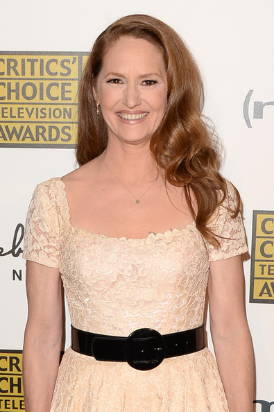 More Pics of Melissa Leo Cocktail Dress (2 of 6) - Melissa Leo Lookbook - StyleBistro [hair,clothing,dress,shoulder,hairstyle,cocktail dress,blond,premiere,waist,joint,arrivals,melissa leo,beverly hills,california,the beverly hilton hotel,broadcast television journalists association,third annual critics choice television awards]
