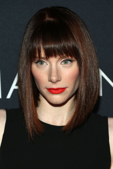 Bryce Dallas Howard Asymmetrical Cut