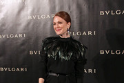 Julianne Moore attends the Exhibition Launch for Bulgari 125th Anniversary Celebration at Grand Palais on December 9, 2010 in Paris, France.