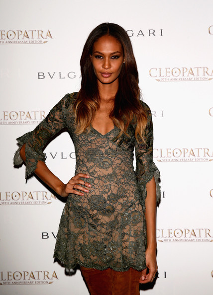 More Pics of Joan Smalls Over the Knee Boots (1 of 4) - Over the Knee Boots Lookbook - StyleBistro