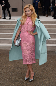 Paloma Faith looked flawless all the way down to her silver python pumps.