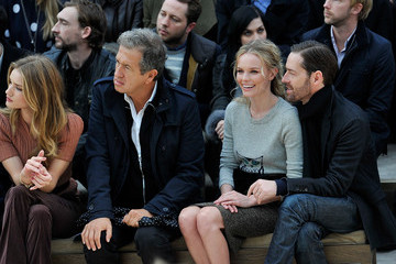 Mario Testino Rosie Huntington-Whiteley Burberry Autumn Winter 2012 Womenswear Front Row