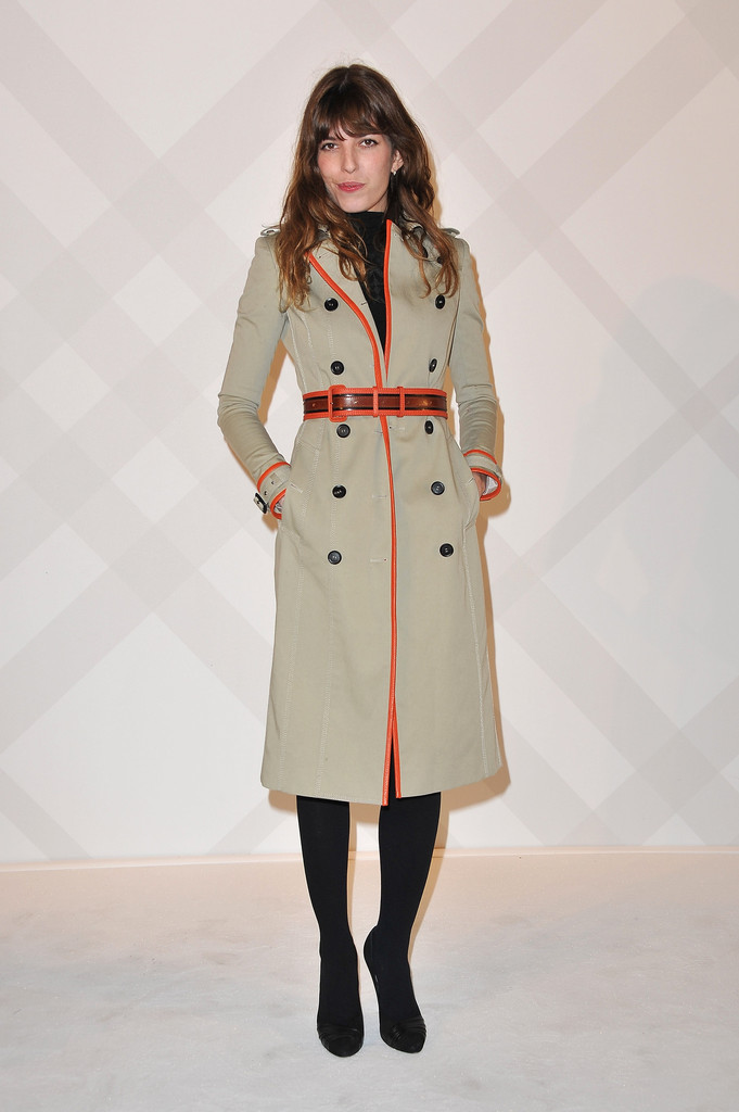 Lou Doillon attends the Burberry Paris Boutique Opening At British Embassy on December 1, 2011 in Paris, France.