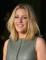 Ellie Goulding opted for a conservative mid-length bob when she attended the Burberry London in Los Angeles event.