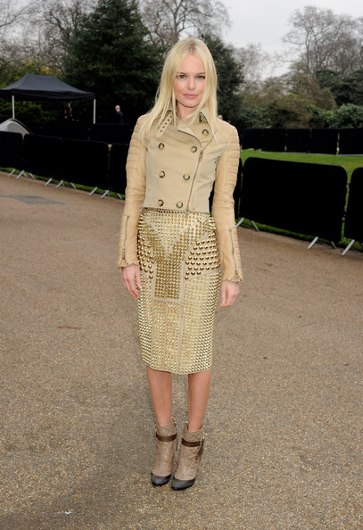 Kate+Bosworth in Burberry Prorsum Arrivals - LFW Autumn/Winter 2011