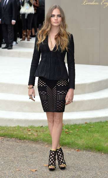 Burberry Prorsum during London Fashion Week