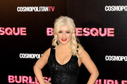 Singer and actress Christina Aguilera attends