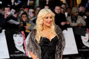 Actress Christina Aguilera attends the UK premiere of 'Burlesque' at Empire Cinema, Leicester Square on December 13, 2010 in London, England.