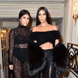 Kourtney and Kim Kardashian at Buro 24/7 Fashion Forward Initiative