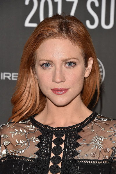 Brittany Snow attended the Sundance premiere of 'Bushwick' wearing a stylish feathery 'do.
