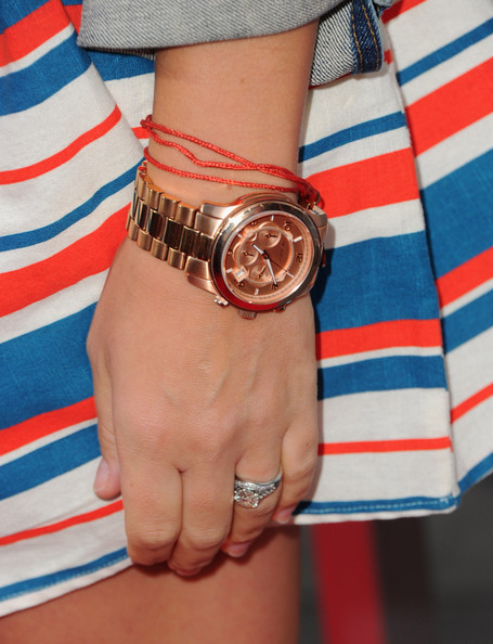 Busy Philipps Gold Chronograph Watch