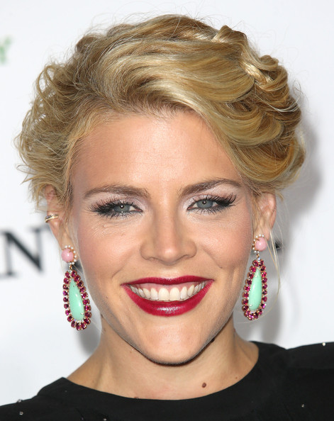 Busy Philipps Red Lipstick