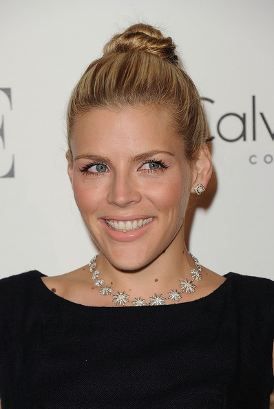 Busy Philipps Diamond Statement Necklace