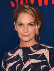 Ruth Wilson worked a rocker-glam vibe with this messy updo at the CBS Summer TCA Party.