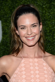Odette Annable kept it sweet and youthful with this wavy ponytail at the CBS Summer TCA Party.