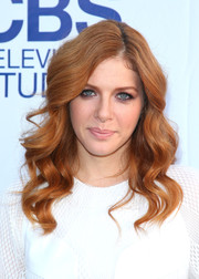 Rachelle Lefevre wore gorgeous sculpted waves at the CBS Summer Soiree.
