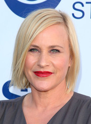 Patricia Arquette sported a simple bob at the CBS Summer Soiree.