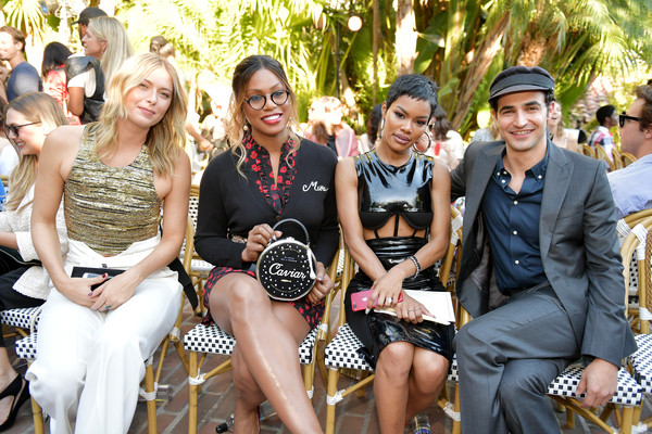 More Pics of Laverne Cox Printed Purse (1 of 6) - Evening Bags Lookbook - StyleBistro