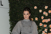 Actress Hailee Steinfeld arrives at CHANEL Boutique on October 27, 2011 in Los Angeles, California.