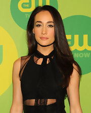 Maggie Q looked super sultry even with a sleek and straight cut!