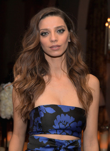 More Pics of Angela Sarafyan Long Wavy Cut (1 of 6) - Angela Sarafyan Lookbook - StyleBistro