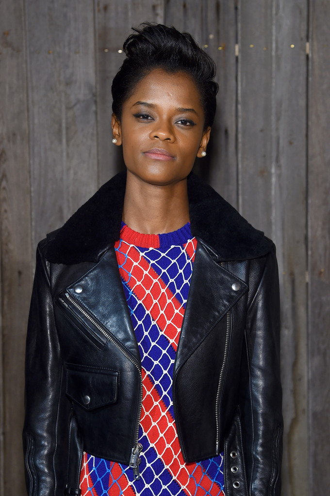 more pics of letitia wright leather jacket 5 of 6