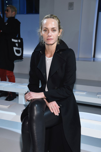 Amber Valletta at Calvin Klein Collection