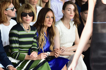 Caption This: Anna Wintour, SJP and Rooney Mara at Calvin Klein