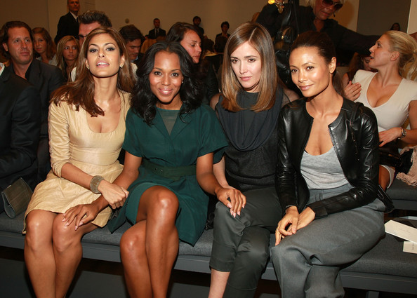 Celebrities at New York Fashion Week 2009