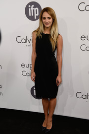 Alexia Niedzielski was low-key in a basic LBD during the Calvin Klein party in Cannes.