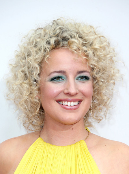 Cam Short Curls [hair,face,hairstyle,blond,ringlet,eyebrow,chin,beauty,lip,smile,arrivals,cam,american music awards,microsoft theater,los angeles,california]