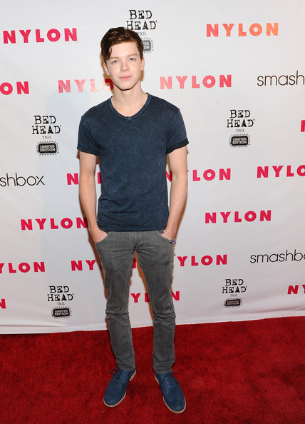 Cameron Monaghan Flat Oxfords