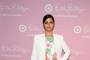 Camila Alves Printed Clutch