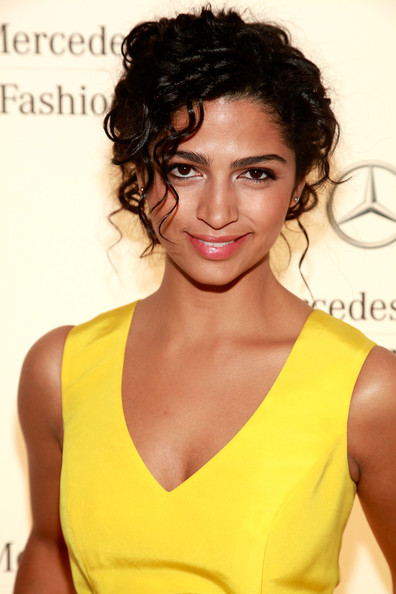 Camila Alves Bobby Pinned Updo